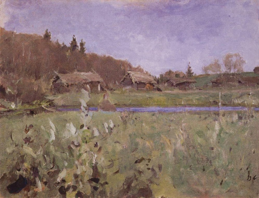 Valentin Aleksandrovich Serov. Sheds