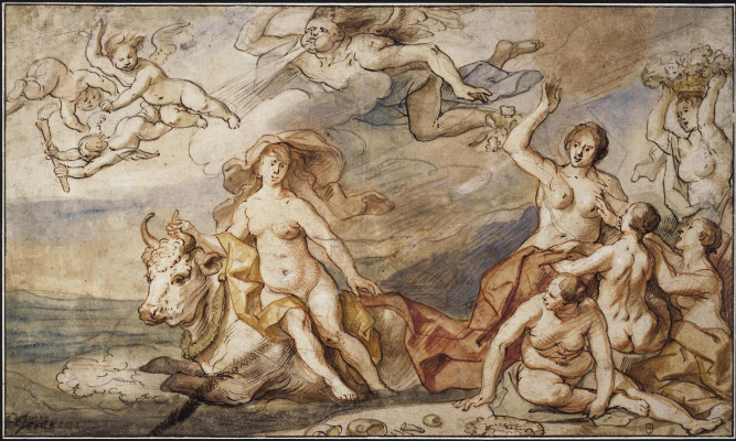 Jacob Jordaens. Abduction of Europe