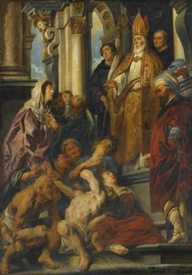 Якоб Йорданс. Diana and Actaeon