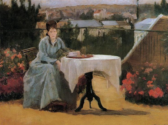 Eva Gonzalez. Afternoon Tea (also known as On the Terrace)