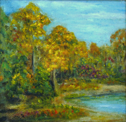 Rita Arkadievna Beckman. Autumn on the southern bug