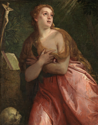 Paolo Veronese. The Penitent Magdalene
