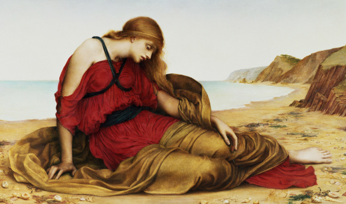 Evelyn De Morgan (Pickering). Ariadne on Naxos