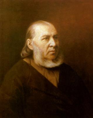 Vasily Grigorievich Perov. Portrait of the writer Sergei Timofeevich Aksakov