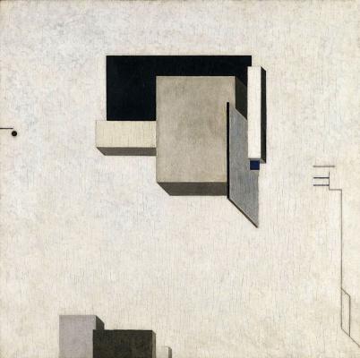El Lissitzky. Proun 1 C