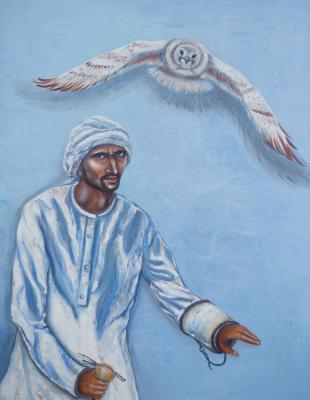 """Alla Struchayeva. Painting """"Freedom in Unity"""""""