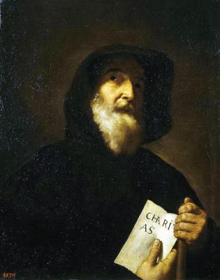 Jose de Ribera. St. Francis de Paula