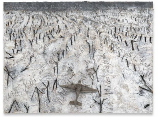 Anselm Kiefer. As the ark went out of your way to get rid of losses