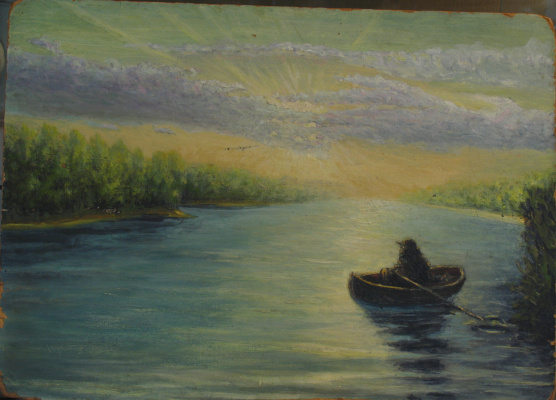 Anatoly Vladimirovich Treskin. At Dawn