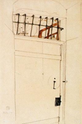 Эгон Шиле. Дверь