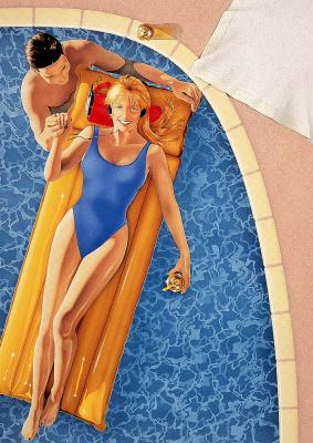 Джим Делапин. Плавание