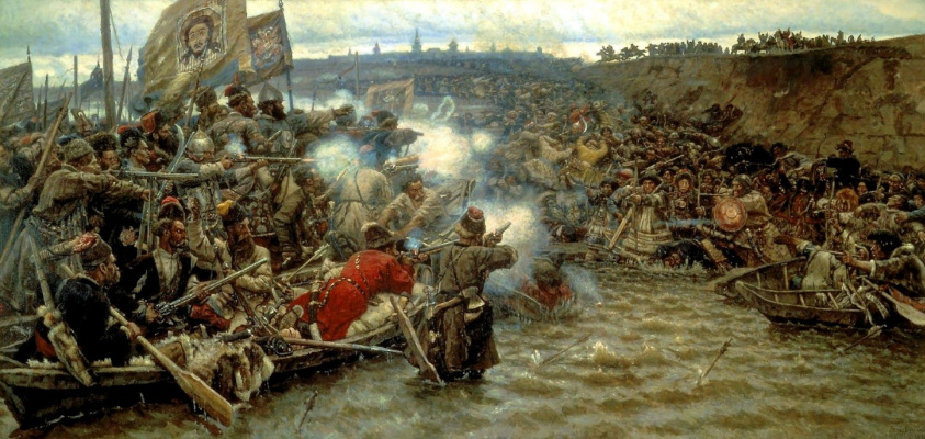 Vasily Ivanovich Surikov. The Conquest Of Siberia By Yermak