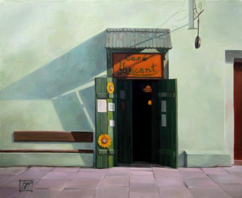 Irina Bogdanova. Cafe Vincent