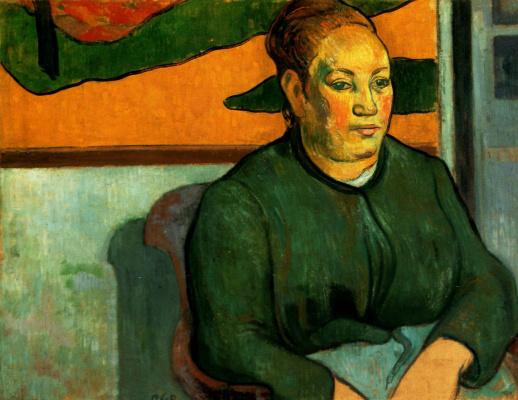 Paul Gauguin. Madame Rulen
