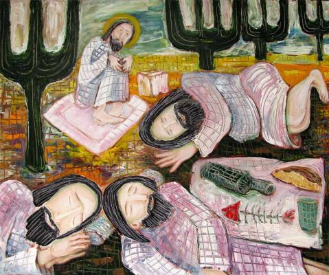 Svyatoslav Ryabkin. In the Gefsimansky garden In the Garden of Gethsemane