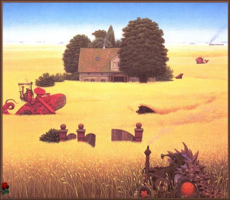 Яцек Йерка. Дом в поле