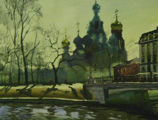 Олег Николаевич Юдин. Весна в Питере