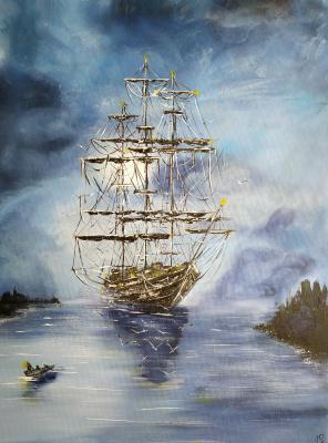 Irina Stukaneva. In the harbor