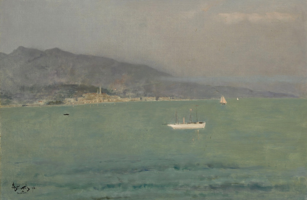 Alfred Emil-Leopold Stevens. Menton, in the afternoon. 1894