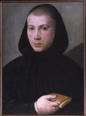Джованни Франческо Карото. Портрет молодого бенедиктинца