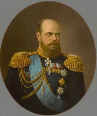 Николай Густавович Шильдер. Царь Александр III