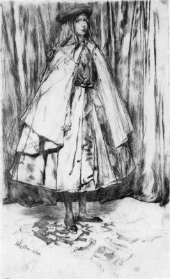 James Abbot McNeill Whistler. Annie Hayden