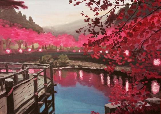 Alex Averskiy. Alone in Kyoto