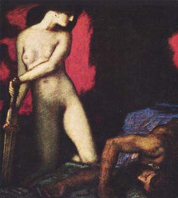 Franz von Stuck. Judith and Holofernes