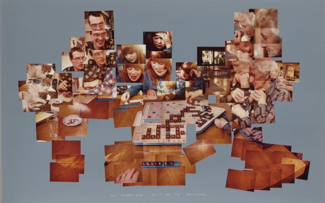 Дэвид Хокни. Игра в скрабл, 1 января 1983