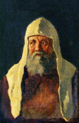 Николай Васильевич Неврев. Патриарх Никон.