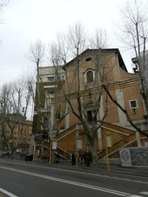 Antonio Kazoni. Chiesa di Santa Maria Immacolata a via Veneto