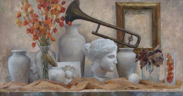 Ольга Акрилова. Still life with Venus de Milo