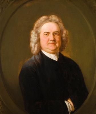 Thomas Gainsborough. Portrait Of Thomas Chubb