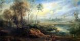 Питер Пауль Рубенс. Пейзаж с птицеловом