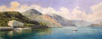 Луиджи Премацци. Вид Женевского озера