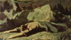 Василий Григорьевич Перов. Христос в Гефсиманском саду. Эскиз