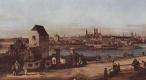 Джованни Антонио Каналь (Каналетто). Вид Мюнхена, мостовые ворота