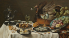 Питер Клас. Натюрморт с пирогом с индейкой