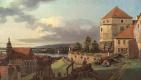 Бернардо Беллотто. Вид Пирны от крепости Зонненштейн