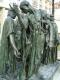 """""""Граждане Кале"""" в Музее Родена в Париже (другой ракурс)"""