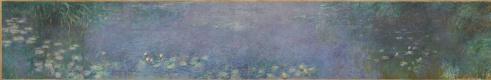 Клод Моне. Водяные лилии: утро
