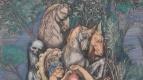 Эрнст Фукс. Венера на острове смерти. Фрагмент II