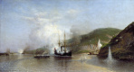 "Alexey Petrovich Bogolyubov. Attack of the boat ""Joke"" Turkish ship on the Danube"