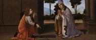 Лоренцо ди Креди. Чудо святого Доната Аррецийского
