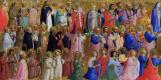 Фра Беато Анджелико. Дева Мария с Апостолами и другими святыми