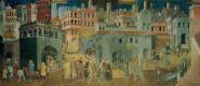 Амброджо Лоренцетти. Плоды Доброго правления в городе
