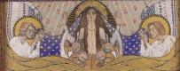 Коломан Мозер. Церковь АМ-Штайнхоф, дизайн для левой боковой алтарь нашей Леди милосердия