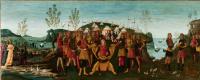Бернардино Фунгаи. Сципион Африканский принимает сдавшегося в плен царя Сифакса