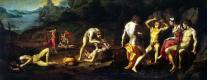 Аньоло Бронзино. Состязание Аполлона и Марсия