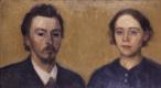 Вильгельм Хаммерсхёй. Автопортрет с женой